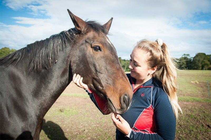 Apples equestrian, Leigh Sinton, Malvern respect