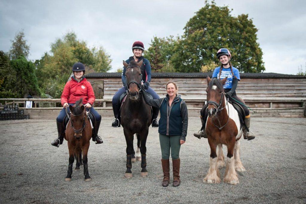 Apples equestrian, Leigh Sinton, Malvern riding school community