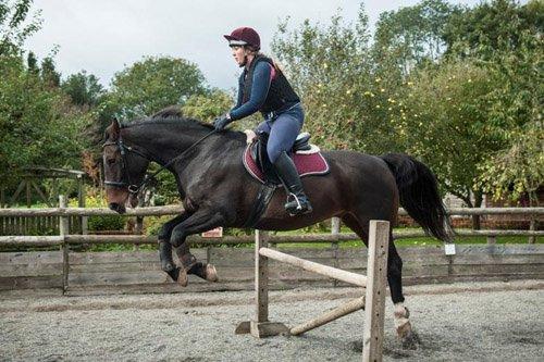 Apples equestrian, Leigh Sinton, Malvern Home riding confidence